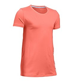 Under Armour® Girls' 7-16 HeatGear® Solid Tee