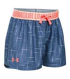 Under Armour® Girls' 7-16 Printed Play Up Shorts