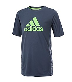 adidas® Boys' 2T-7X Smoke Screen Tee