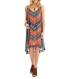 Democracy Double Strap V-Neck Dress
