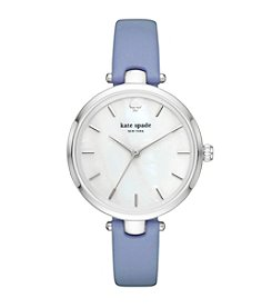 kate spade new york® Wash Leather Holland Watch