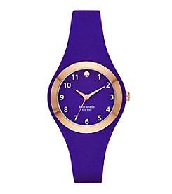 kate spade new york® Silicone Rumsey Watch