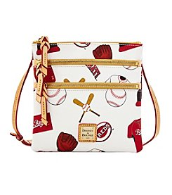 Dooney & Bourke® MLB® Cincinnati Reds Triple Zip Crossbody