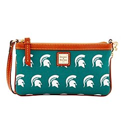 Dooney & Bourke® NCAA® Michigan State Spartans Large Slim Wristlet