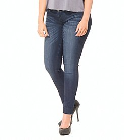 Poetic Justice® CeCe Basic Cropped Skinny Ankle Jeans