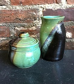 Clay Path Studio Creamer & Sugar Jar