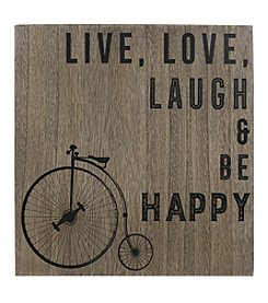 Sheffield Home® Live Love Laugh & Be Happy Box Art
