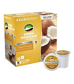 Keurig® K-Cup 18-Ct. Green Mountain Coffee Island Coconut