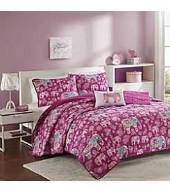 Mi Zone Elly Quilt Coverlet Set