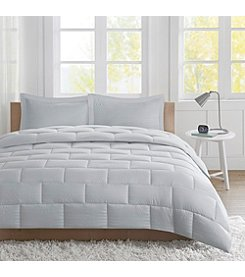 Intelligent Design Avery Seersucker 3-pc. Comforter Set