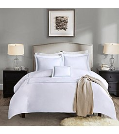 Madison Park Signature 1000-Thread Count Embroidered Cotton 4-pc. Duvet Cover Set