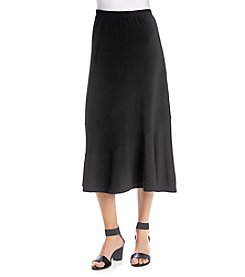 Alfred Dunner® Saratoga Springs Spliced Skirt