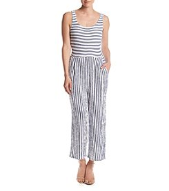 Penelope Rose™ Striped Knit Pantsuit
