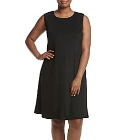 Kasper® Plus Size Trapeze Dress