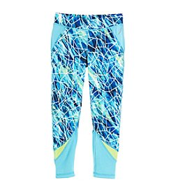 Exertek® Girls' 4-6X Print Pieced Leggings