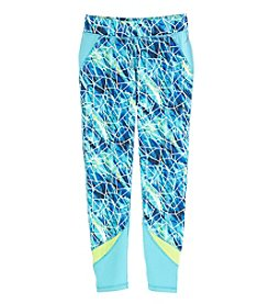 Exertek® Girls' 7-16 Print Pieced Leggings