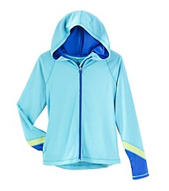 Exertek® Girls' 7-16 Hooded Colorblock Jacket