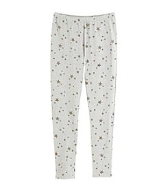 Miss Attitude Girls' 7-16 Star Printed Leggings