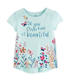 Mix & Match Girls' 2T-6X Be Your Own Kind of Beautiful Tee