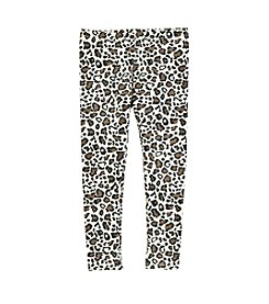 Mix & Match Girls' 4-6X Leopard Print Leggings