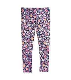 Mix & Match Girls' 2T-6X Floral Print Leggings