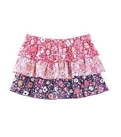 Mix & Match Girls' 4-6X Tiered Skirt