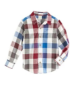 Mix & Match Boys' 2T-8 Poplin Shirt