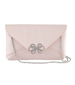 La Regale® Satin Envelope Crossbody