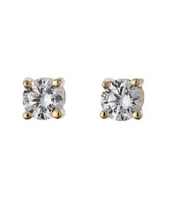 BT-Jeweled Zirconia Studs Earrings