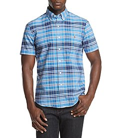 Polo Ralph Lauren® Men's Short-Sleeve Plaid Oxford Shirt