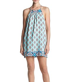 Be Bop Geo Diamond Swing Dress