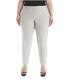 Calvin Klein Plus Size Menswear Ankle Pants