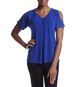 Studio Works® Cold Shoulder Top