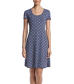 Karen Kane® Medallion Printed T-Shirt Dress
