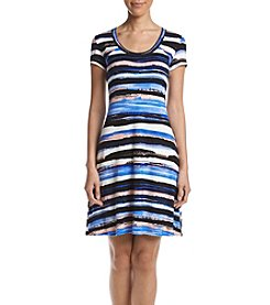 Karen Kane® Striped T-Shirt Dress