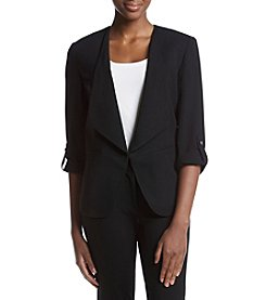 Nine West® Button Sleeve Jacket