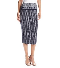 Max Studio Edit™ Printed Midi Skirt