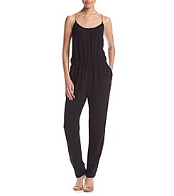 MICHAEL Michael Kors® Chain Shoulder Jumpsuit
