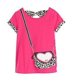 Mix & Match Girls' 4-6X Bow Back Tee