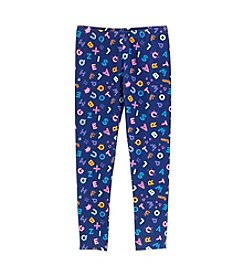 Mix & Match Girls' 4-6X Printed Leggings