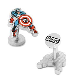Cufflinks Inc. Marvel® Comics Captain America Cuflfinks