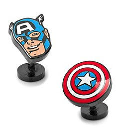 Cufflinks Inc. Marvel® Comics Captain America Action Cuflfinks