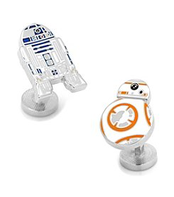 Cufflinks Inc. Star Wars™ R2D2 and BB-8™ Droid Cufflinks