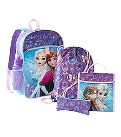 Disney® Frozen Five Piece Backpack Set