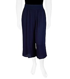 A. Byer Plus Size Pull-On Crepe Pants