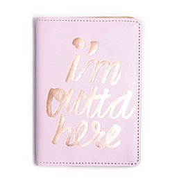 ban.do® The Getaway I'm Outta Here Passport Holder