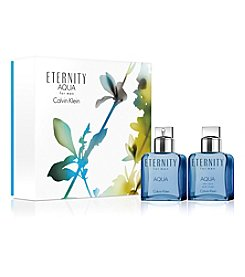 Calvin Klein ETERNITY AQUA For Men Gift Set (A $128 Value)