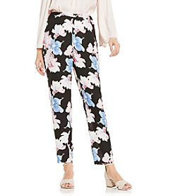 Vince Camuto® Poetic Bouquet Slim Leg Pull On Pants