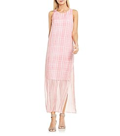 Vince Camuto® Graceful Phrases Chiffon Overlay Dress