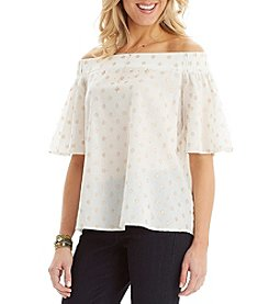 Democracy Wide Off The Shoulder Top